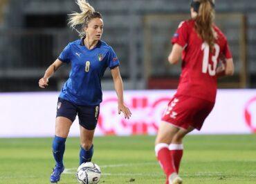 L'azzurra Martina Rosucci in azione