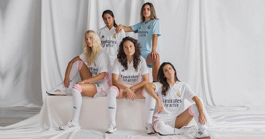 Le calciatrici del Real Madrid