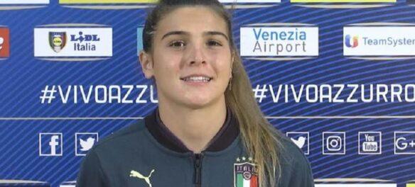 Sofia Cantore in nazionale