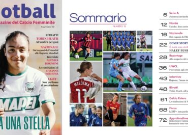 Haley Bugeja in copertina su L Football