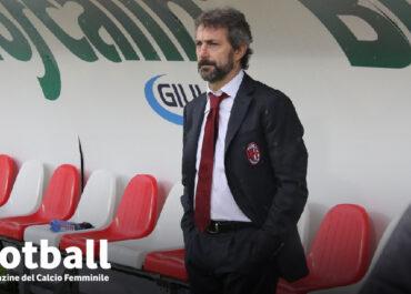 Maurizo Ganz allenatore del Milan femminile