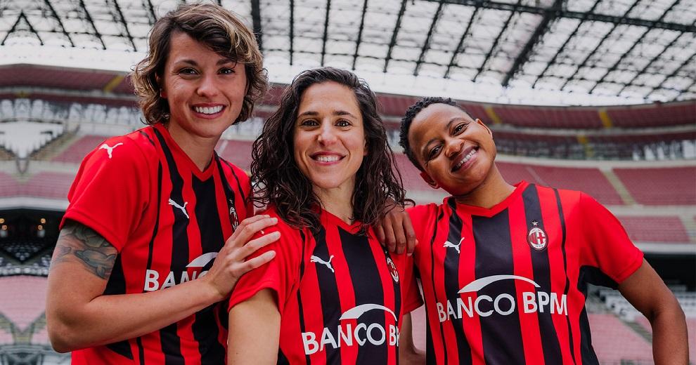 Milan femminile maglia