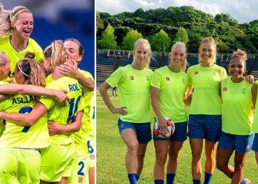 Squadra svedese calcio femminile